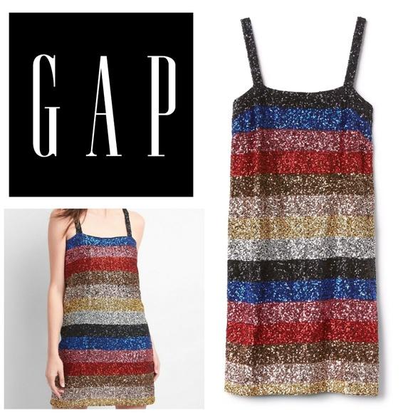 92dabc8e ... Crazy Stripe Sleeveless Sequin Dress. NWT. GAP.  M_5bab785d6197452ebdbf0d67. M_5bab7857aa8770bf9e4c9b92.  M_5bc3fcc9baebf6a92fcec52e